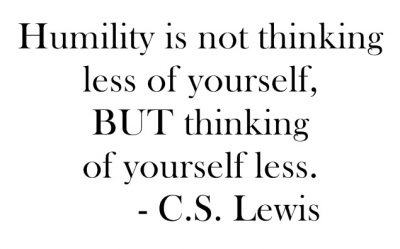 Humility-CSLewisQuote